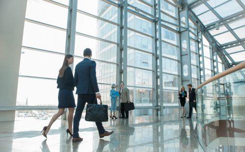 Hoe ziet een professioneel kantoor eruit?
